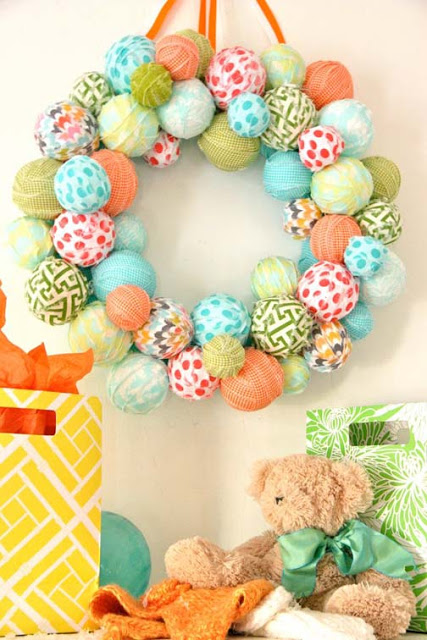 Quick and Easy Spring Wreath | 25+ Spring wreaths
