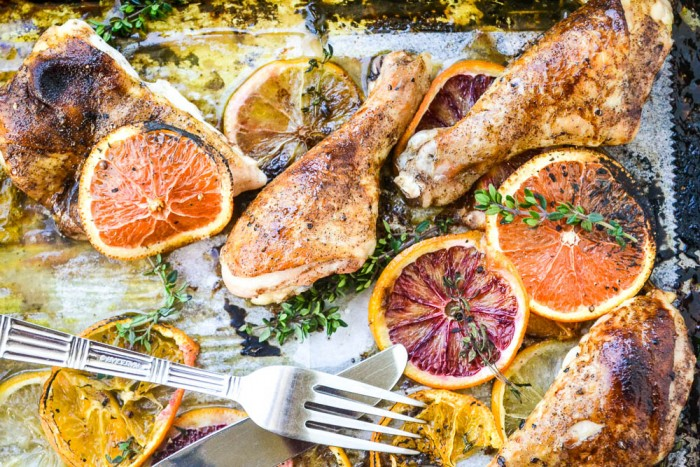 Roasted Chicken with Citrus