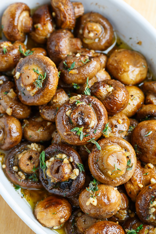 Roasted Mushrooms   25+ Browned Butter Recipes