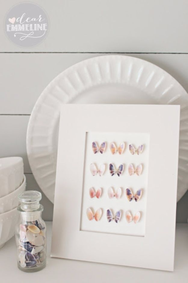 15 DIY Butterfly Crafts For Home Decor (Part 1)