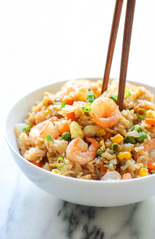 Shrimp Fried Rice | 25+ Chinese Food Recipes at Home