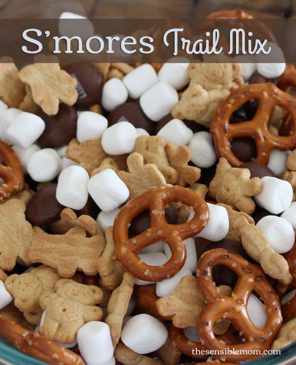 S'mores trail Mix | 25+ easy camping recipes