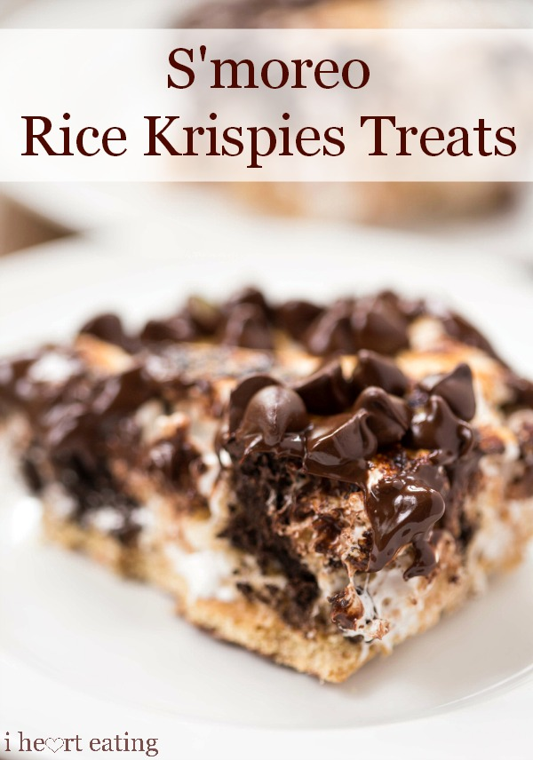 S'moreo Rice Krispie Treats | 25+ Rice Krispie Treat Ideas