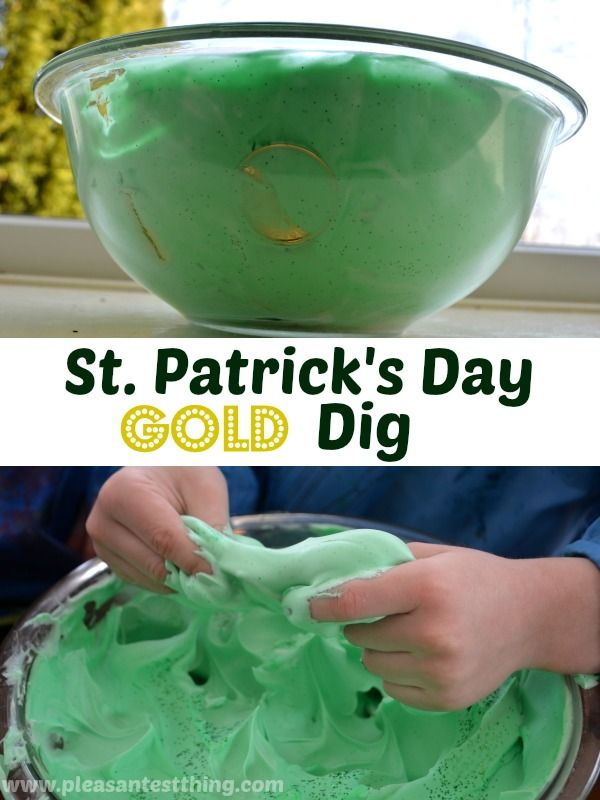 St. Patrick's Day Gold Dig | 25+ St. Patrick's Day ideas