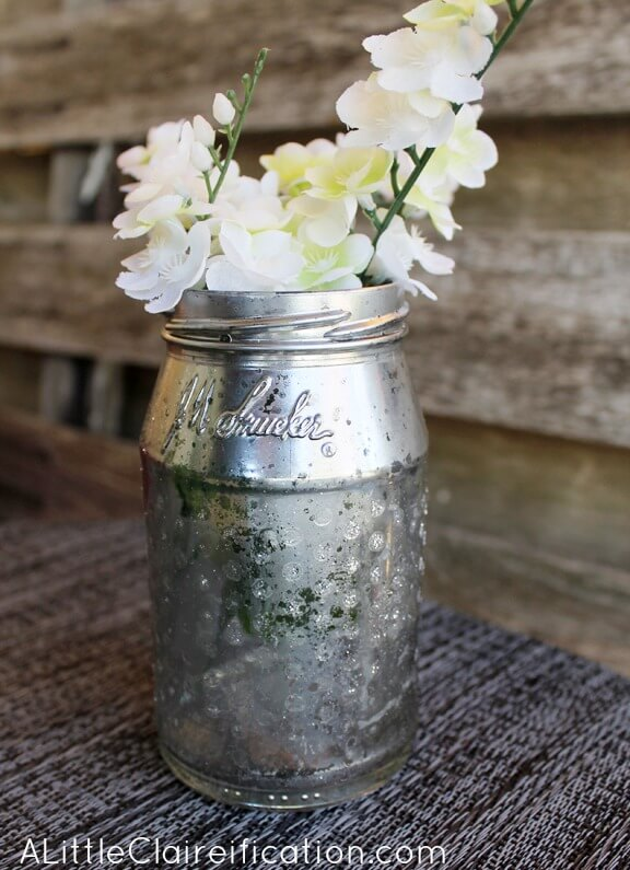 Stenciled-Jelly-Jar