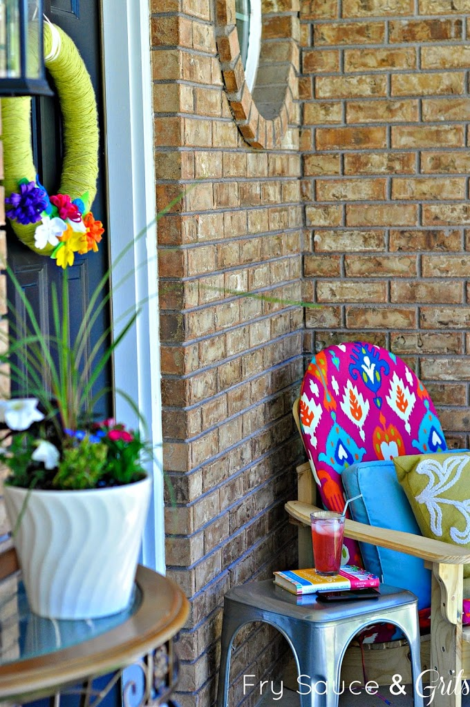 DIY Outdoor Projects: 15 Colorful Porch Ideas (Part 1)