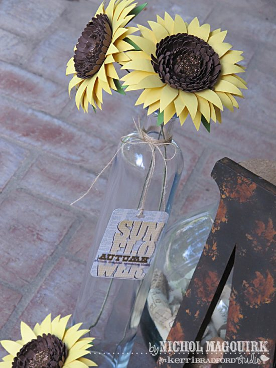 Big Sunflower Paper Flower | 25+ MORE Paper Flowers
