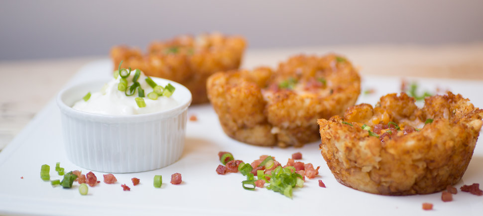 Tater tot potato skins | 25+ Potato Skin Recipes