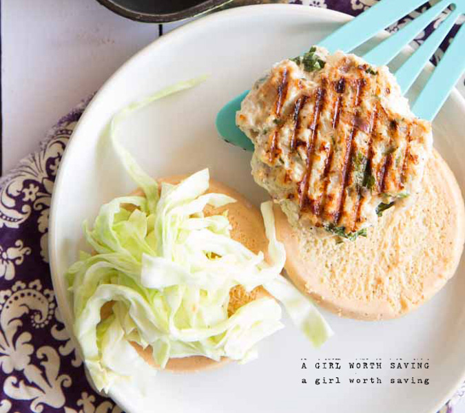 Thai Chicken Burger | 25+ gluten and dairy free recipes