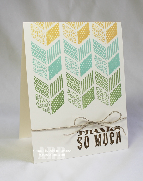 Thanks So Much Card | 25+ Handmade Cards