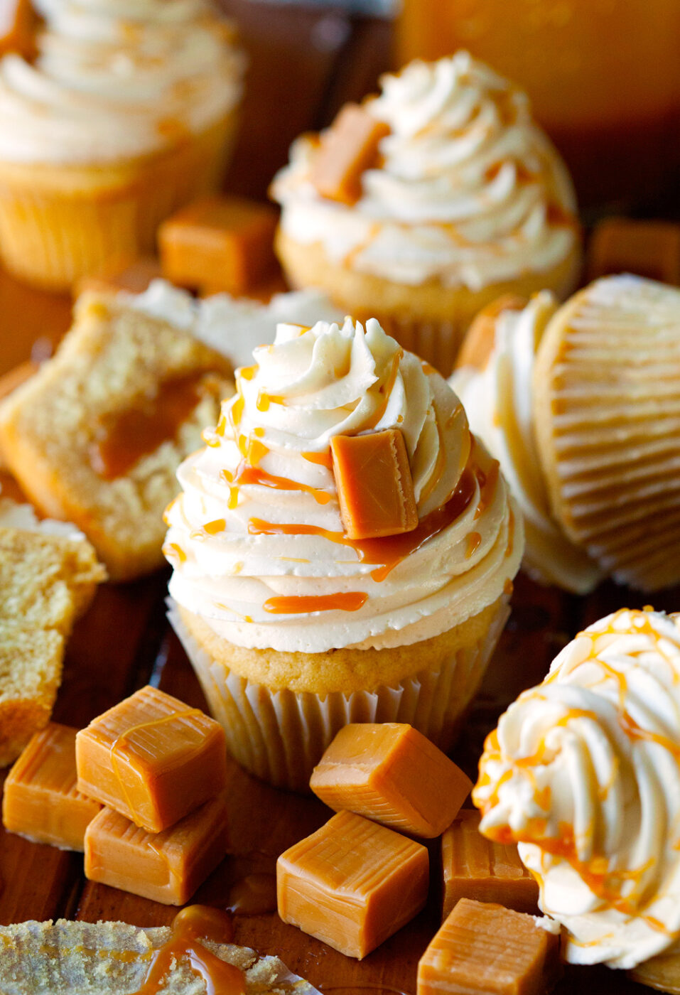 The Best Salted Caramel Cupcakes | 25+ Salted Caramel Desserts