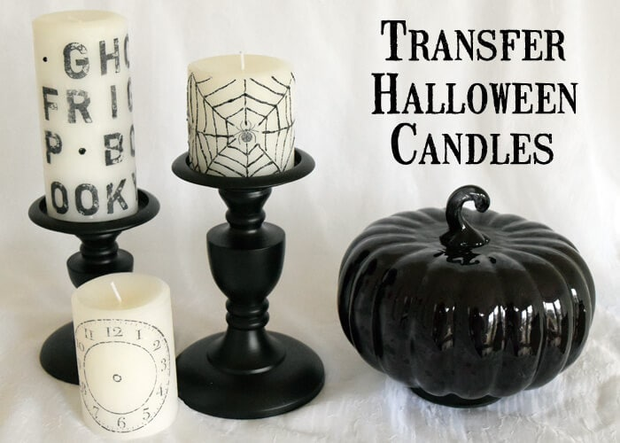 Transfer-Stamped-Halloween-Candles