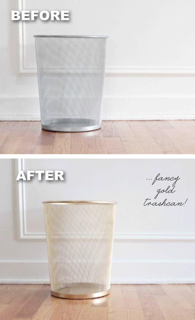 15 DIY Spray Paint Projects That Restore Old Items - Spray Paint Projects, DIY Spray Paint Projects, DIY Spray Paint Project, DIY Spray Paint