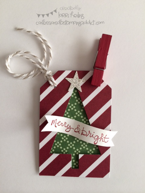 Under the Tree Tag | 25+ Handmade Christmas Cards