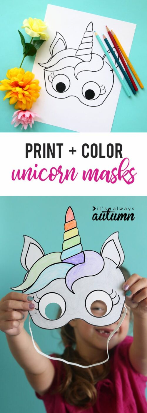 DIY Ideas With Unicorns - Unicorn Masks - Cute and Easy DIY Projects for Unicorn Lovers - Wall and Home Decor Projects, Things To Make and Sell on Etsy - Quick Gifts to Make for Friends and Family - Homemade No Sew Projects and Pillows - Fun Jewelry, Desk Decor Cool Clothes and Accessories http://diyprojectsforteens.com/diy-ideas-unicorns