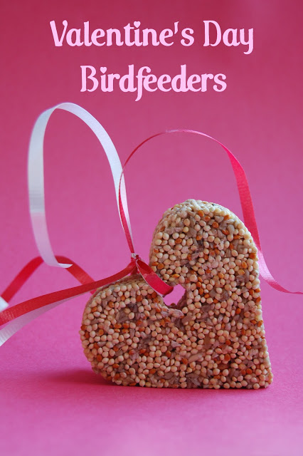 Valentine Birdfeeders | 25+ Valentine Crafts for Kids
