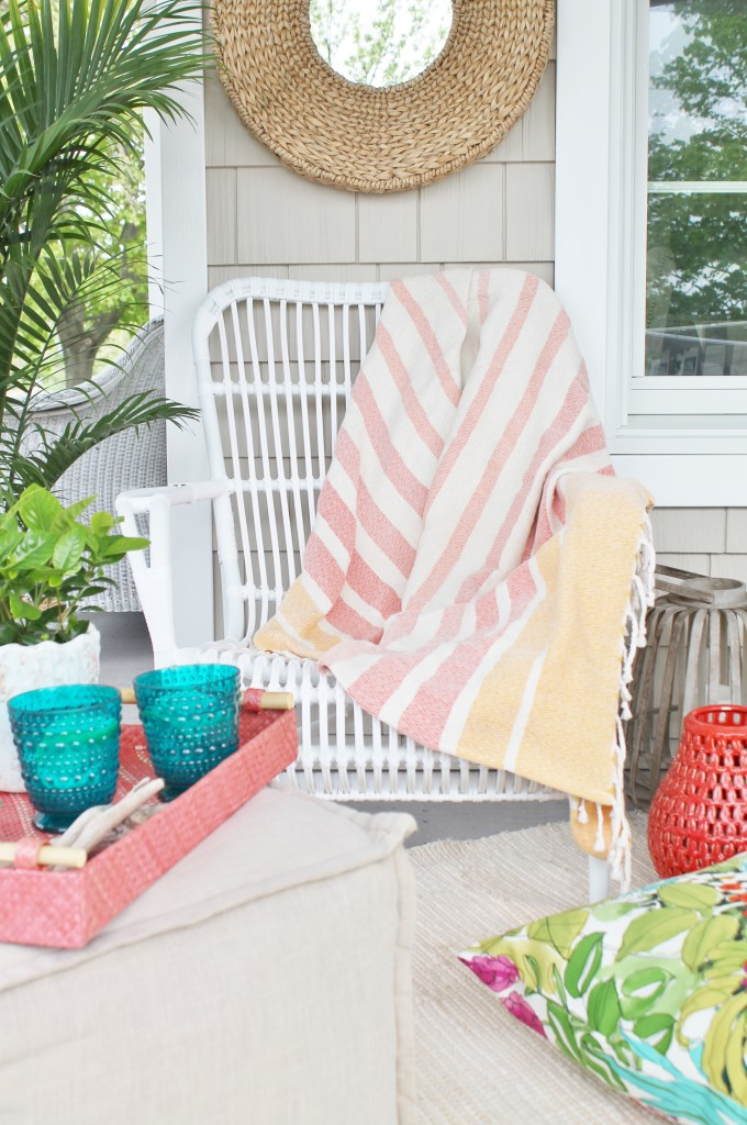 World Market Love for Outdoors Colorful Retreat City Farmhouse