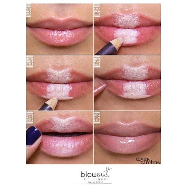 Fuller Lips Beauty Hacks Tutorial