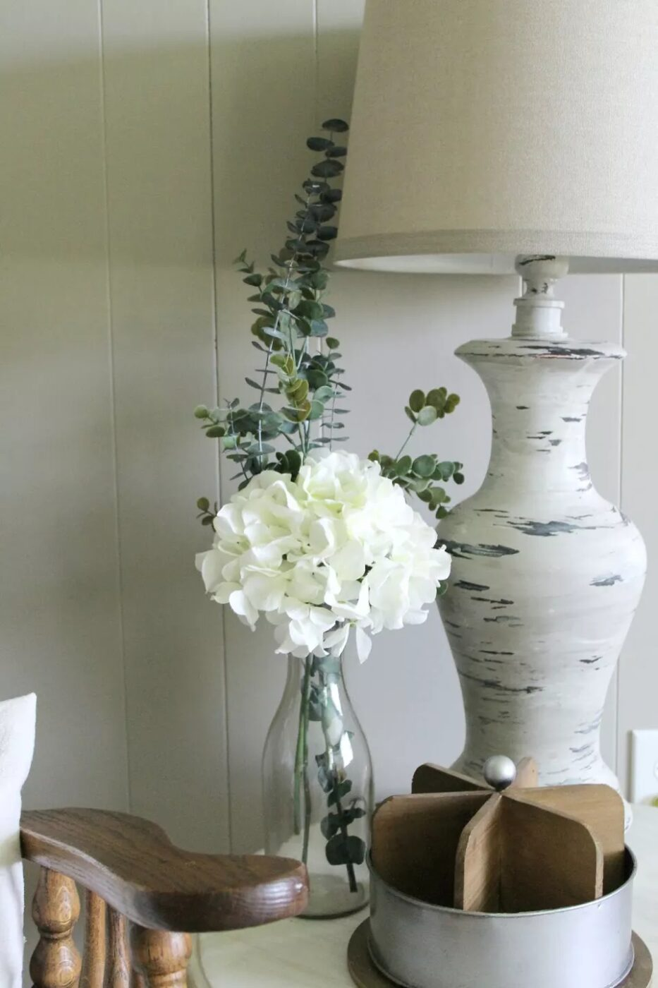 old lamp makeover project