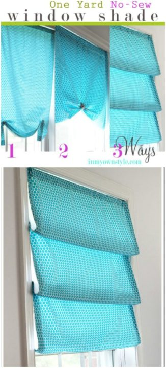 20 Amazing DIY Curtain Ideas To Dress Up Your Home
