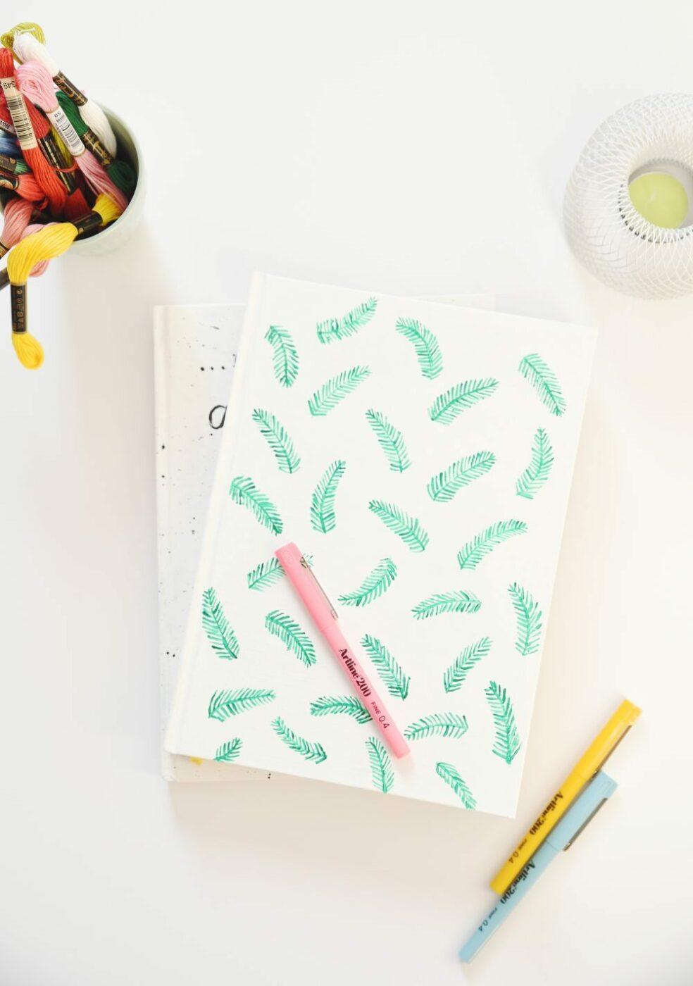 Customized DIY Notebook Covers