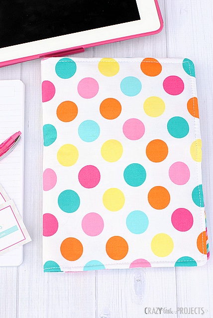 Colorful Dots Fabric Cover