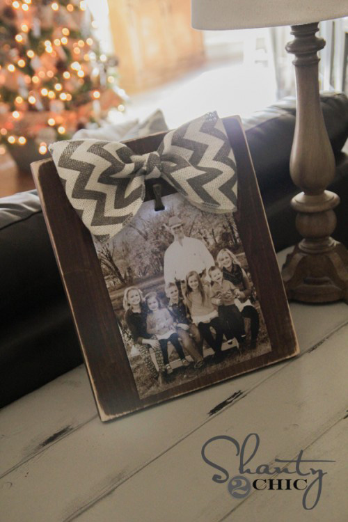 DIY picture frames & displays - great ideas!
