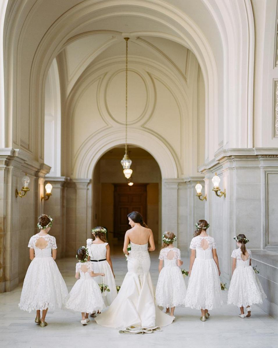 open back flower girl dresses with lace