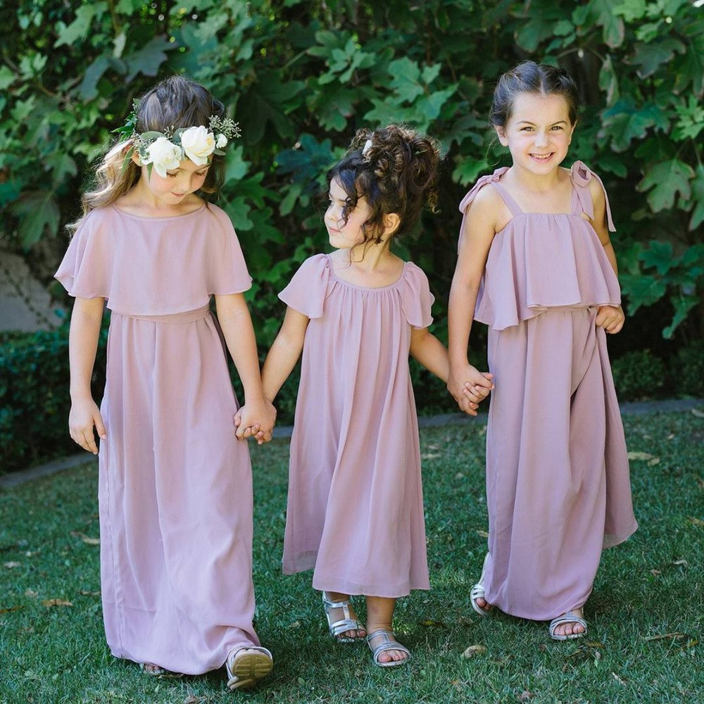 lavender flower girl dresses