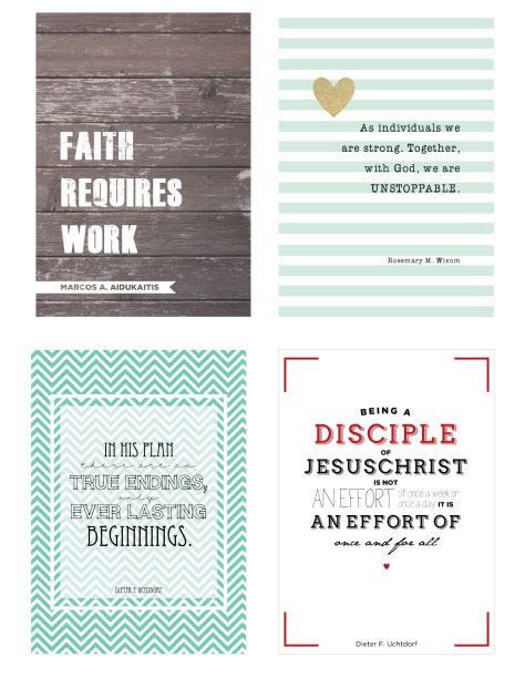 15 Free Inspirational Quote Prints