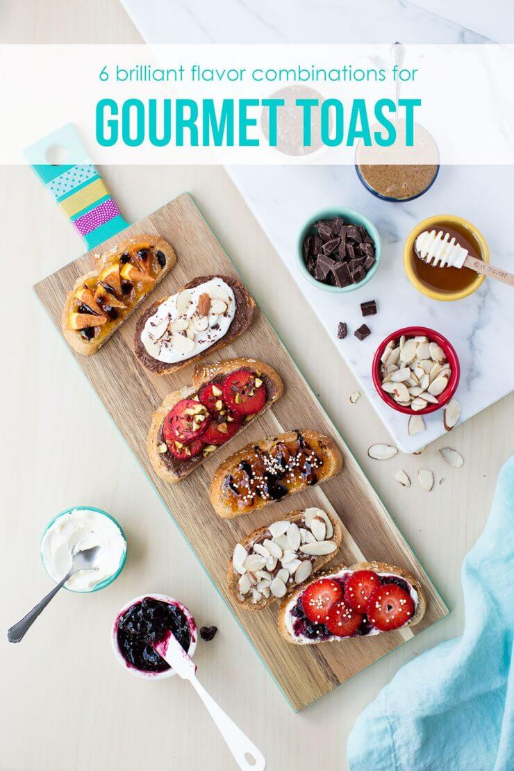 gourmet toast IHN + Top 50 Easter Brunch Recipes that will please every guest on your list!