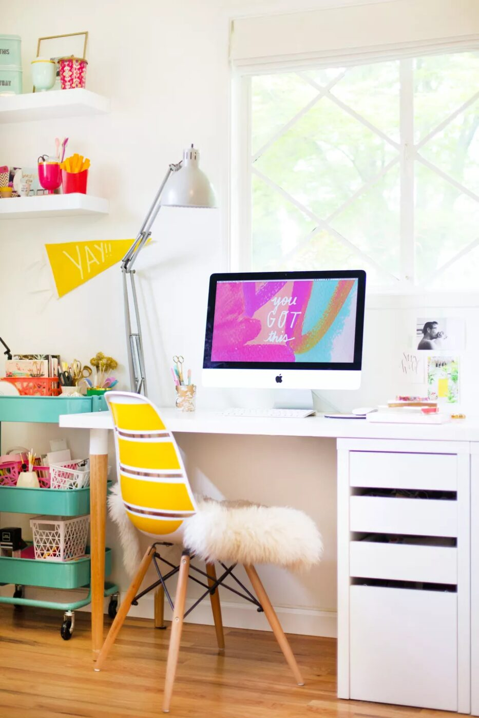 DIY Ikea Desk Hack