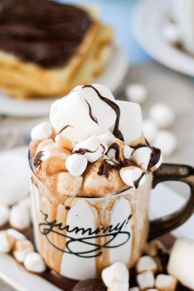 15 Cozy Hot Cocoa Drink and Dessert Recipes - Hot Recipes, Hot Dessert Recipes, Hot Cocoa Drink and Dessert Recipes, Hot Cocoa Drink, Hot Cocoa, hot chocolate recipes, hot chocolate