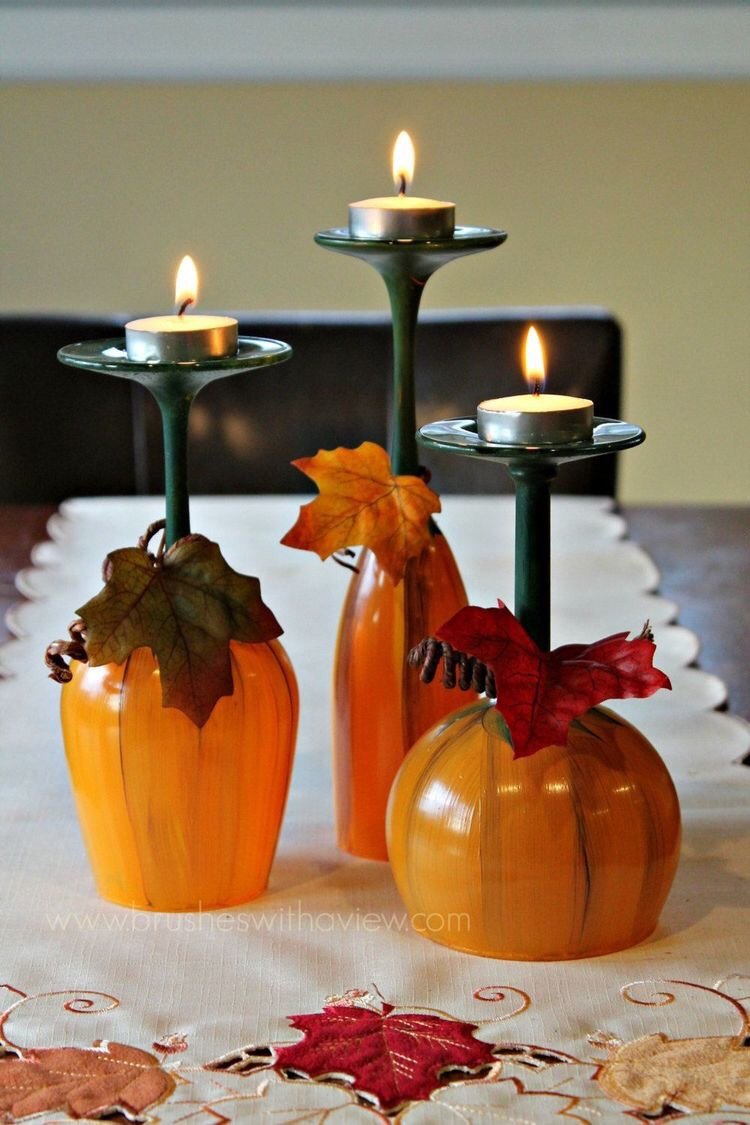 17 DIY Ideas for Easy Thanksgiving Decorating (Part 1) - thanksgiving decorations, Thanksgiving Decorating, DIY Thanksgiving Decorating Ideas, DIY Ideas for Thanksgiving Decorations