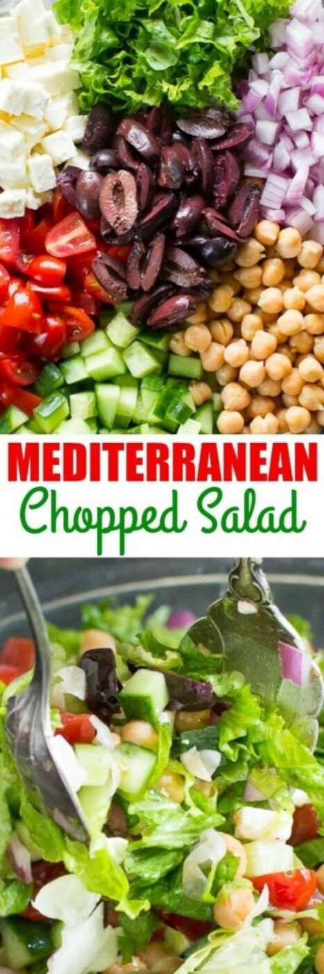 18 Healthy Salad Recipes That Aren't Boring And Will Keep You Feeling Good (Part 2) - salad recipes, Healthy Winter Salad Recipes, Healthy Salad Recipes