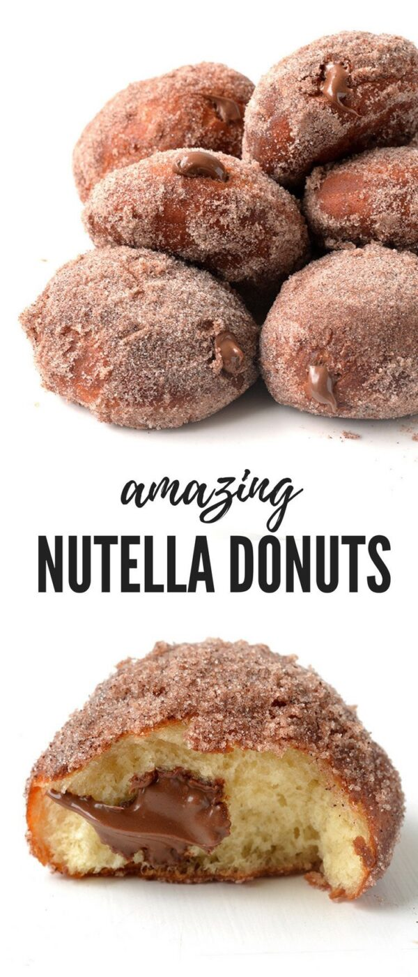 22 Sweet Recipes for Nutella Desserts (Part 1) - Recipes for Nutella Desserts, Recipes for Nutella, Nutella Desserts, Desserts, dessert recipes