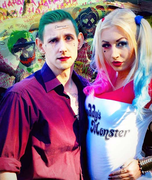 Harley Quinn and the Joker for Halloween Costume Ideas for Couples