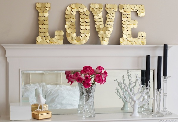 Love Sign - DIY Monogram Letters