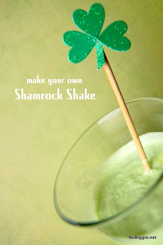 DIY Shamrock Shake | 25+ St. Patrick's Day ideas