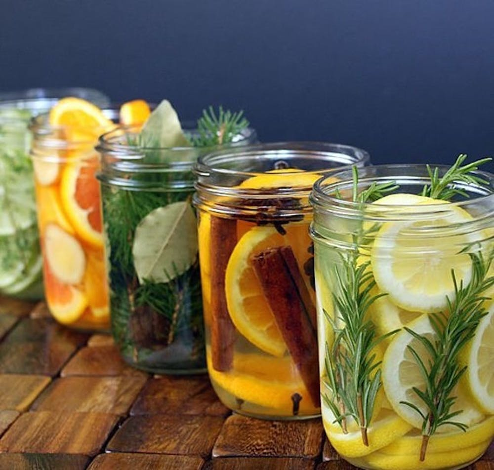 Scented Waters In Jar