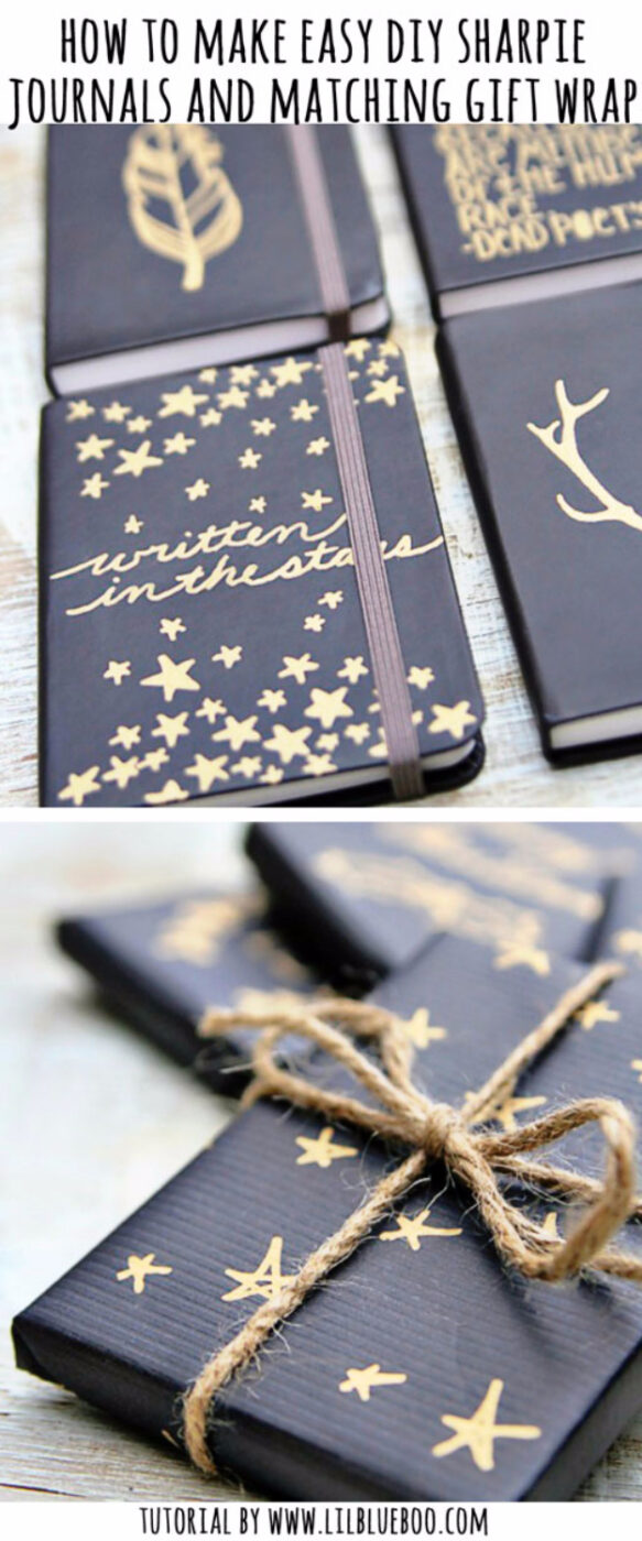 DIY Sharpie Crafts Journals