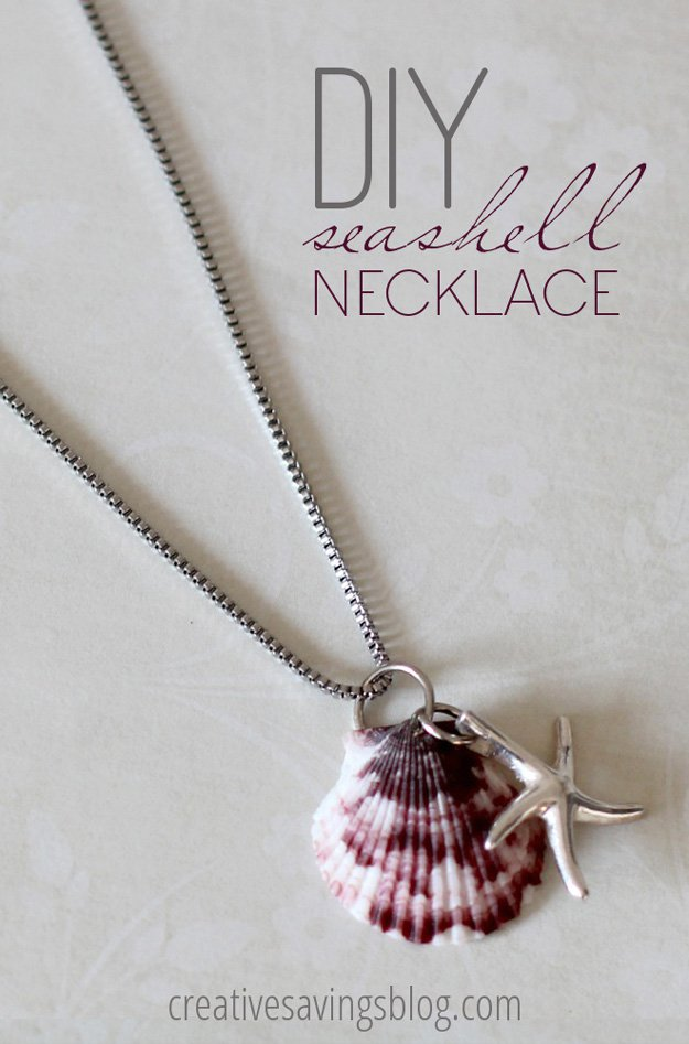 Easy Seashell Necklace