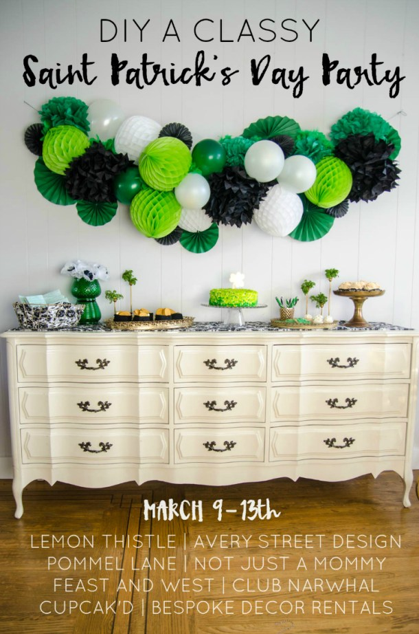 Best DIY St. Patrick's Day Decorations and Ideas (Part 1) - St. Patrick's Day Decorations, Diy St. Patrick's Day Decorations, DIY St. Patrick's Day Decor, DIY Decoration Ideas For St. Patrick's Day