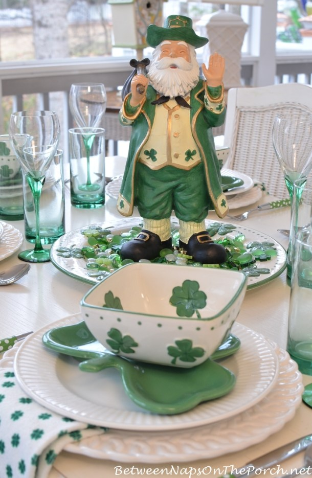 Awesome DIY St. Patrick's Day Decor Projects to Make (Part 5) - Diy St. Patrick's Day Decorations, DIY St. Patrick's Day Decoration, DIY St. Patrick's Day Decor, DIY St. Patrick's Day