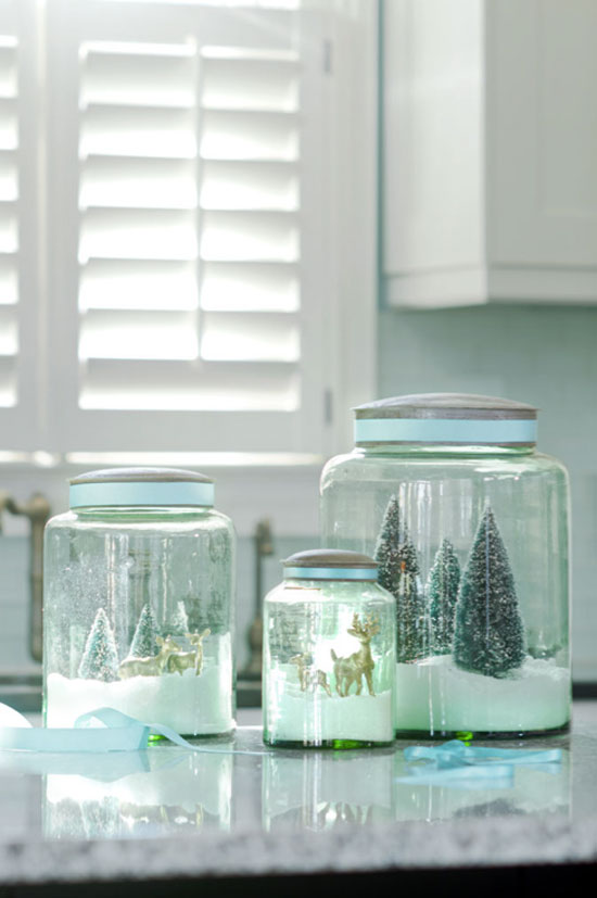 snowglobe | 25+ Winter decor crafts