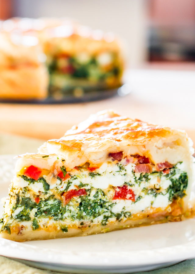 Spinach Ricotta Brunch Bake | 25+ Puff Pastry Dough Recipes