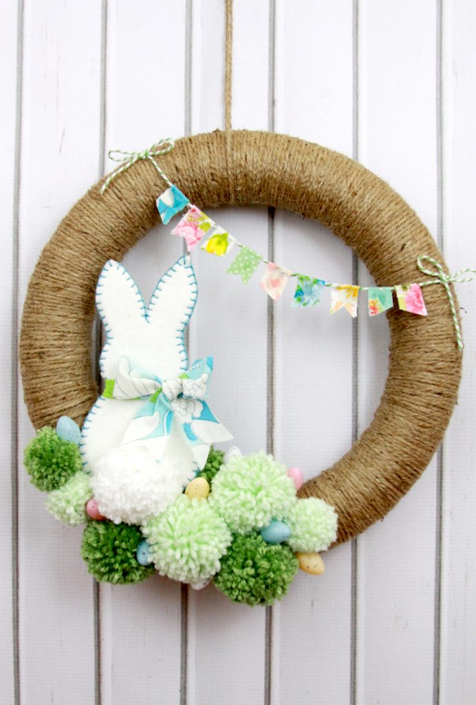 18 DIY Spring Wreaths to Brighten Up Your Home Decor - Spring Wreaths, spring wreath, DIY Wreaths Ideas, diy spring wreath, diy spring home decor, diy spring