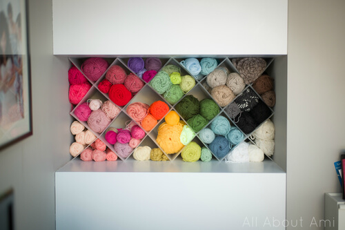 Yarn Storage Hack