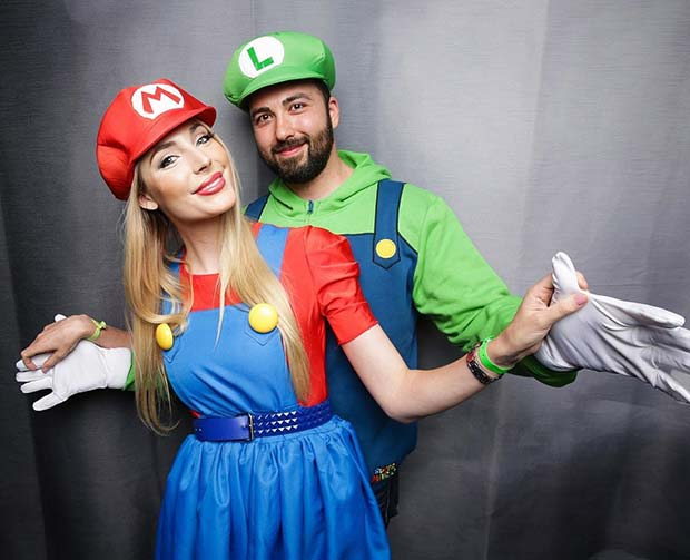Mario and Luigi for Halloween Costume Ideas for Couples