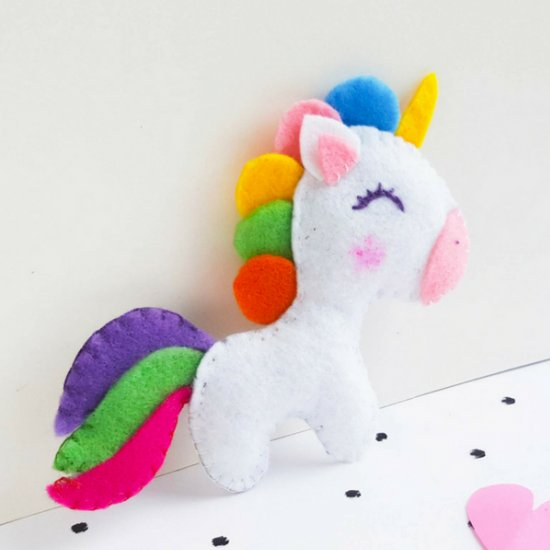 Unicorn sewing project